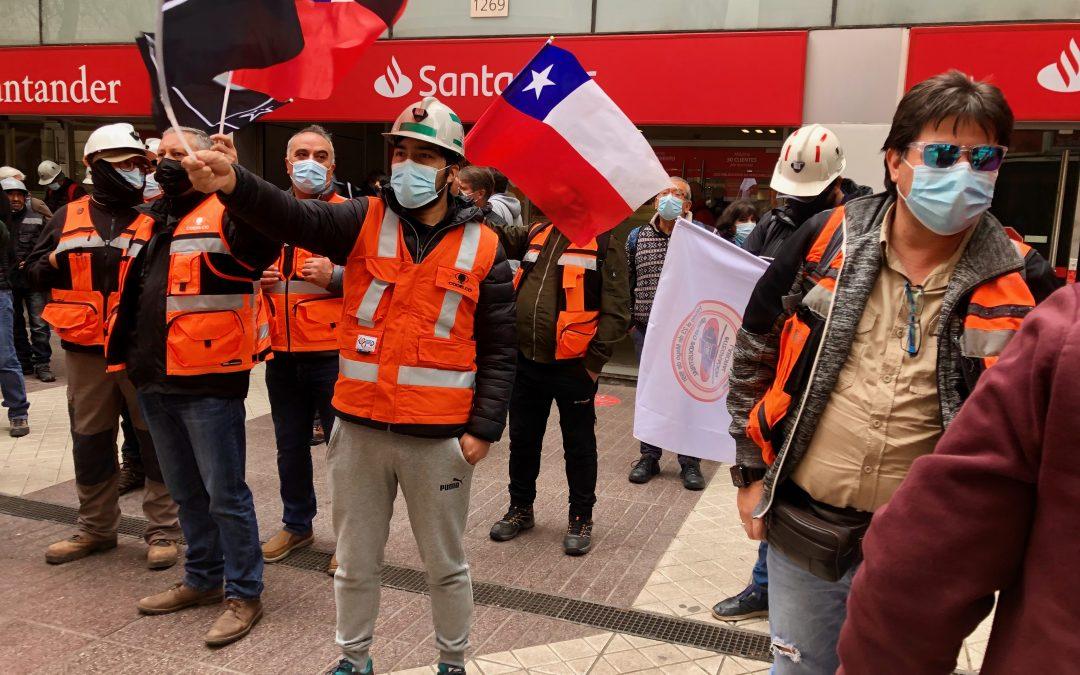 Codelco y gremios en huelga de la mina Andina vuelven a la mesa de negociación