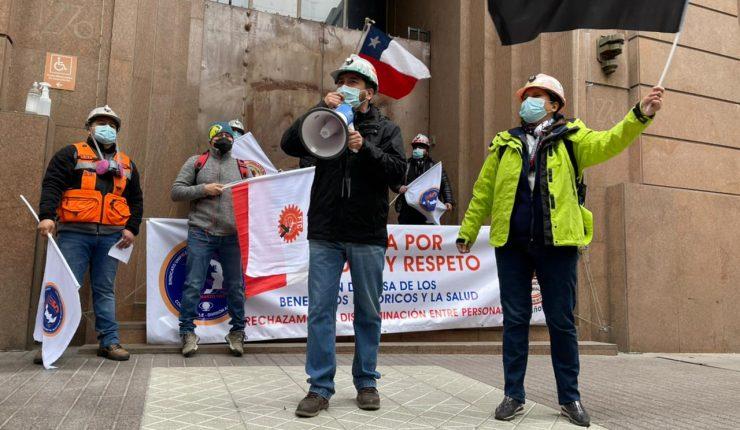Codelco: Sindicato Suplant rechaza oferta de División Andina y se suma a huelga legal